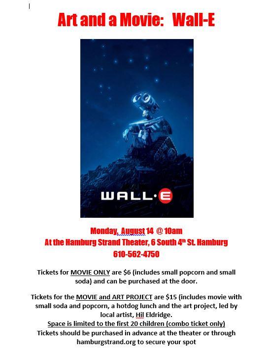 Art and Movie-Wall-E