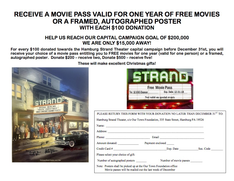 Capital Campaign Donation Form