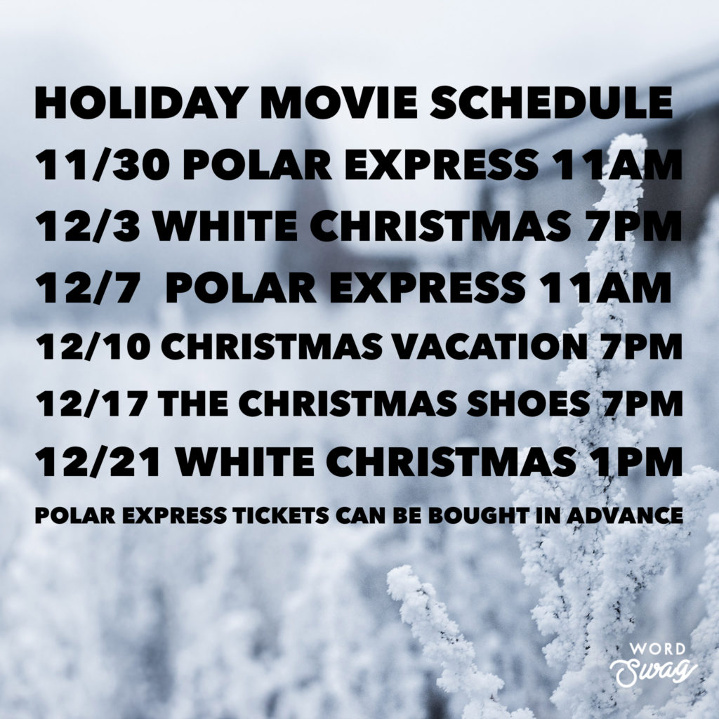 Holiday Events 2019